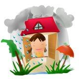 περίοδος βροχών απεικόνιση αποθεμάτων