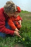 περίπατος γιων μητέρων Στοκ εικόνες με δικαίωμα ελεύθερης χρήσης