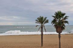 περίπατος Ισπανία της Βαρ&ka στοκ φωτογραφία με δικαίωμα ελεύθερης χρήσης