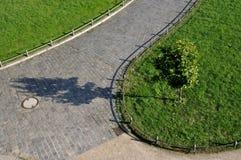 περίπατος πάρκων της Δρέσδ&e Στοκ Εικόνες