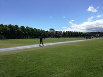περίπατος πάρκων Στοκ Εικόνες