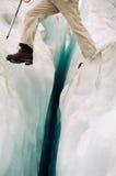 περίπατος παγετώνων Στοκ Φωτογραφίες