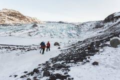 Περίπατος παγετώνων Στοκ εικόνες με δικαίωμα ελεύθερης χρήσης