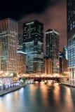 Περίπατος ποταμών του Σικάγου στοκ εικόνα