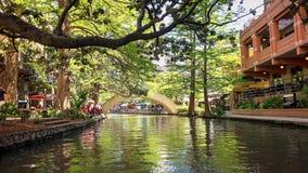 Περίπατος ποταμών του San Antonio στο Τέξας Στοκ φωτογραφία με δικαίωμα ελεύθερης χρήσης