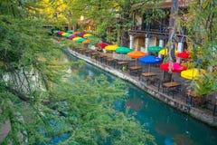 περίπατος ποταμών SAN Τέξας antonio Στοκ εικόνα με δικαίωμα ελεύθερης χρήσης