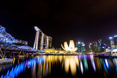 Περίπατος προκυμαιών, Σιγκαπούρη στοκ εικόνες