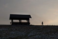 περίπατος πρωινού Στοκ φωτογραφία με δικαίωμα ελεύθερης χρήσης