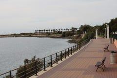 Περίπατος σε AlmerÃa Ισπανία για να περπατήσει στοκ εικόνα με δικαίωμα ελεύθερης χρήσης
