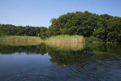 Περίπατος στη λίμνη Οχρίδα στοκ εικόνες