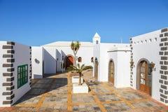 Περίπατος στη μαρίνα Rubicon στο BLANCA Playa, Lanzarote Στοκ εικόνα με δικαίωμα ελεύθερης χρήσης