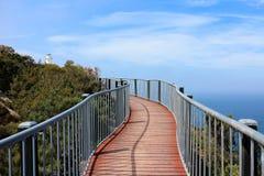 Περίπατος στο ακρωτήριο Tourville, εθνικό πάρκο Freycinet στοκ φωτογραφία