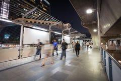 Περίπατος ταχύτητας τη νύχτα Στοκ φωτογραφία με δικαίωμα ελεύθερης χρήσης