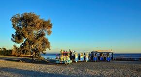 περίπατος της Ιταλίας arenzano για να εκπαιδεύσει Στοκ Εικόνα