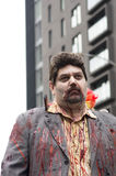 Περίπατος του Μόντρεαλ Zombie Στοκ φωτογραφία με δικαίωμα ελεύθερης χρήσης