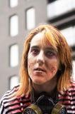 Περίπατος του Μόντρεαλ Zombie Στοκ εικόνες με δικαίωμα ελεύθερης χρήσης