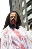 Περίπατος του Μόντρεαλ Zombie Στοκ Φωτογραφία