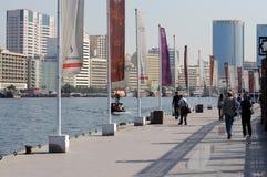 περίπατος του Ντουμπάι κ&om Στοκ εικόνα με δικαίωμα ελεύθερης χρήσης