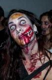 Περίπατος του Jack Daniels Sitges Zombie Στοκ Εικόνα
