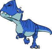 Περίπατος Τ rex Στοκ Εικόνες
