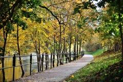 Περίπατος φθινοπώρου στοκ εικόνες με δικαίωμα ελεύθερης χρήσης