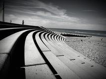 Περίπατος Cleveleys Στοκ Φωτογραφίες