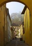 Περίπατος Sighisoara Στοκ φωτογραφία με δικαίωμα ελεύθερης χρήσης