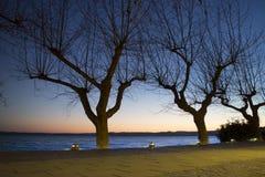 Περίπατος Trevignano Στοκ εικόνες με δικαίωμα ελεύθερης χρήσης