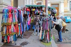 Περίπτερο για την πώληση των μαντίλι Στοκ εικόνα με δικαίωμα ελεύθερης χρήσης