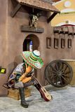 Περίπτερο Μεξικό διακοσμήσεων στο κέντρο Glob ψυχαγωγίας πάρκων στοκ φωτογραφίες