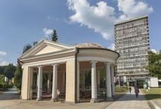 Περίπτερο ναών σε Rogaska Slatina, Σλοβενία Στοκ φωτογραφία με δικαίωμα ελεύθερης χρήσης