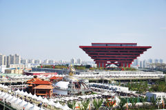 περίπτερο Σαγγάη της Κίνα&sigm στοκ εικόνες