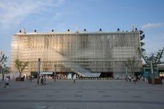 περίπτερο Σαγγάη EXPO εταιρι στοκ εικόνα