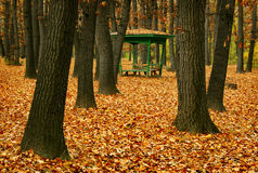 Περίπτερο στο πάρκο στοκ φωτογραφία με δικαίωμα ελεύθερης χρήσης