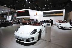 Περίπτερο της Porsche στοκ φωτογραφία με δικαίωμα ελεύθερης χρήσης