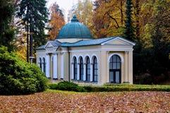 Περίπτερο του δασικού ελατηρίου - Marianske Lazne - Δημοκρατία της Τσεχίας Στοκ εικόνα με δικαίωμα ελεύθερης χρήσης