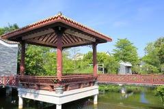 Περίπτερο του κινεζικού κλασσικού σπιτιού Στοκ Εικόνες