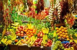 Περίπτερο των φρούτων και λαχανικών στοκ εικόνες με δικαίωμα ελεύθερης χρήσης