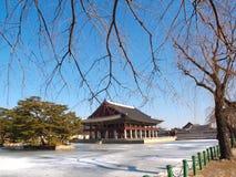 Περίπτερο Gyeonghoeru Στοκ Εικόνα