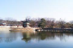 Περίπτερο Hyangwonjeong Στοκ Εικόνες