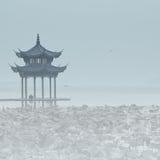 Περίπτερο Jixian στοκ εικόνα