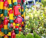 Περίπτερο Reggae, πράσινος, κίτρινος, κόκκινος, στοιχεία rasta-ατόμων Στοκ Φωτογραφίες