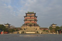 Περίπτερο Tengwang στο Nanchang, επαρχία Jiangxi, Κίνα Στοκ φωτογραφίες με δικαίωμα ελεύθερης χρήσης