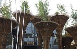 Περίπτερο Vietanm σε EXPO 2015 Στοκ Εικόνα