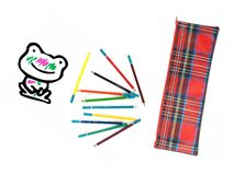 Περίπτωση μολυβιών Στοκ εικόνα με δικαίωμα ελεύθερης χρήσης