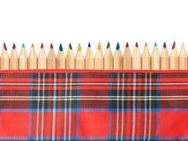 Περίπτωση μολυβιών Στοκ Εικόνα