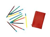 Περίπτωση μολυβιών Στοκ Εικόνες