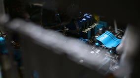 Περίπτωση προσωπικών Η/Υ PC εσωτερικών ASUS heatsink που καθαρίζεται από τον επαγγελματία απόθεμα βίντεο