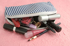 περίπτωση makeup Στοκ Εικόνες