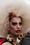 Περίπλοκα ντυμενός transgender, κατά τη διάρκεια της οδού του Christopher ημέρα Π στοκ φωτογραφίες με δικαίωμα ελεύθερης χρήσης
